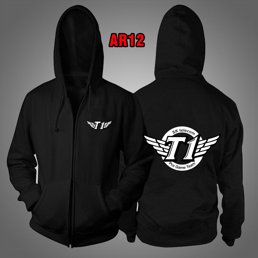 Áo Khoác đen liên minh huyền thoại Team SKT T1 đẹp chất lượng