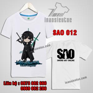 Mẫu áo thun  Sword Art Online