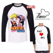 Mẫu áo dài tay Naruto - Hinata chibi