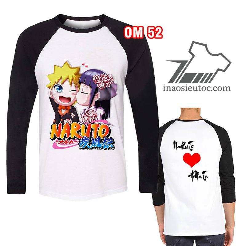 In áo phông Naruto-Hinata giá rẻ tại Hà Nội - In áo theo yêu cầu