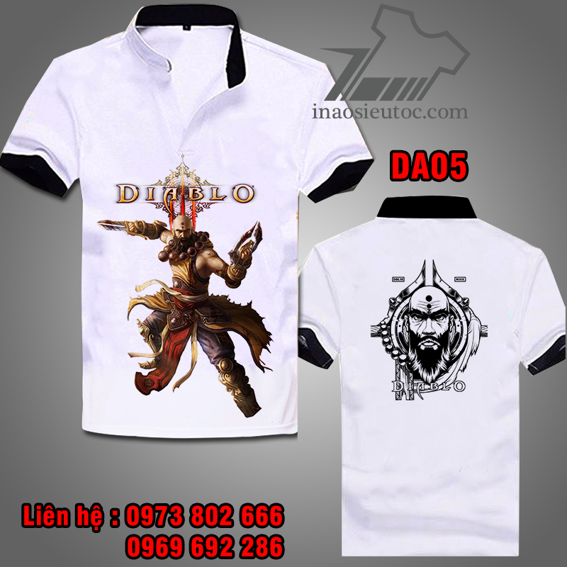 In áo phông theo yêu cầu ở Hà Nội