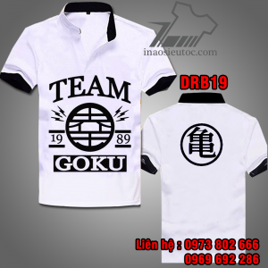Mẫu áo Thun Dragon Ball DRB19