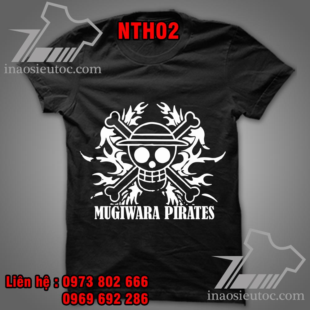 Dịch vụ in áo phông One Piece theo yêu cầu tại Hà Nội