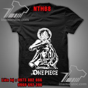 Mua áo phông One Piece tại Hà Nội - In áo One Piece theo yêu cầu