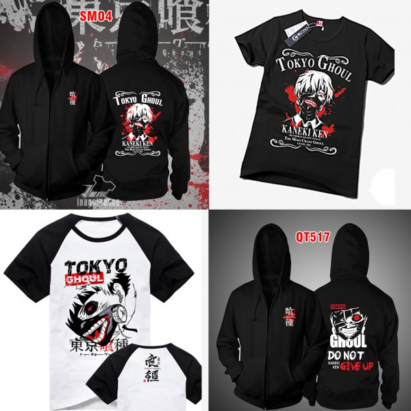 Ao Khoac kaneki ken Tokyo Ghoul đẹp giá rẻ