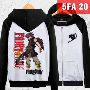 Áo khoác Natsu Fairy Tail cực ngầy - đặt áo Fairy Tail tại Hải Phòng