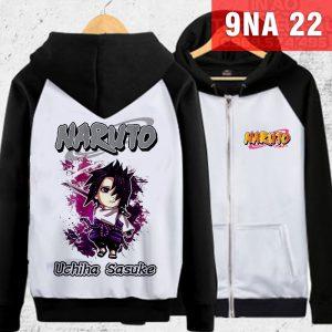Áo khoác Sasuke giá tốt nhất - In áo Naruto theo yêu cầu rẻ đẹp