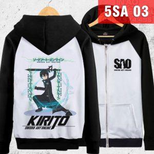 Mẫu áo khoác Kirito - Sword Art Online mới nhất ở VInh - Nghệ An