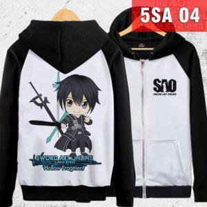 Mẫu áo khoác Kirito chibi - Sword Art Online đẹp độc đáo tại Long An