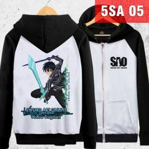 In áo khoác Sword Art Online theo yêu cầu - thích hình nào in hình đó