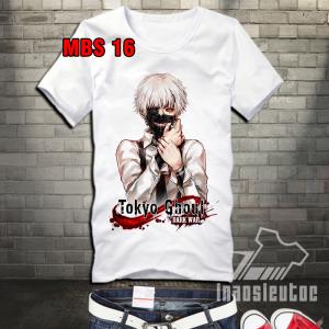 Nhận in hình Tokyo Ghoul lên áo - in áo anime manga theo yêu cầu