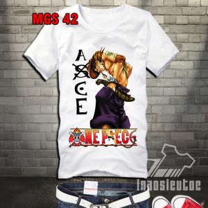 Shop bán áo phông ace one piece độc đpẹ - áo anime manga one piece đẹp
