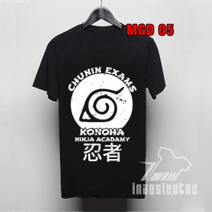 Shop bán áo thun naruto konoha đẹp độc hcm - áo anime - inaosieutoc.com
