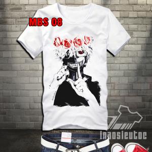 Bán áo thun Tokyo Ghoul - shop nhận in hình theo yêu cầu