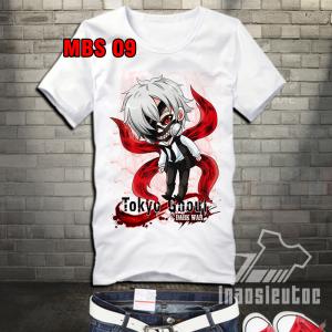Mẫu áo thun chibi ken kaneki tokyo ghoul đẹp độc - INAOSIEUTOC.COM