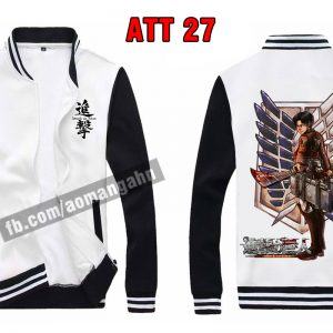 Dịch vụ in áo Attack on Titan - anime theo yêu cầu -inaosieutoc.com