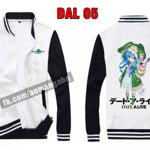 Mẫu áo khoác Date A live siêu dễ thương tại hải phòng - áo anime manga độc đẹp