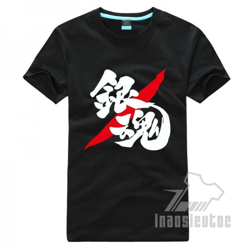 Shop bán áo Gintama đẹp giá rẻ – nhận in áo anime manga theo yêu cầu