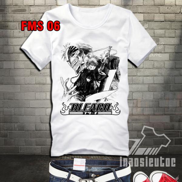 In áo Bleach đẹp - in áo anime manga theo yêu cầu giá rẻ ở hòa bình