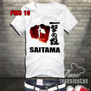 Áo in Saitama đẹp - áo One Puch Man giá rẻ