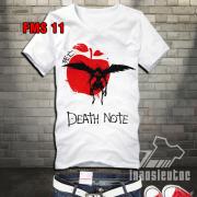 Áo phông Deathnote đẹp uy tín ở Hà Nội