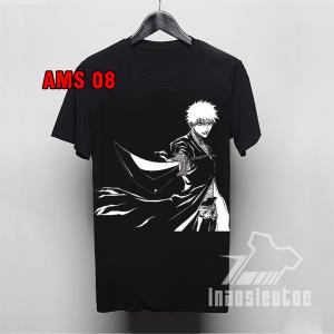 Mẫu áo phông đen Bleach đẹp giá rẻ - INAOSIEUTOC.COM