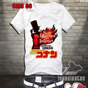 áo phông in hình conan độc đẹp - áo anime manga - inaosieutoc.com