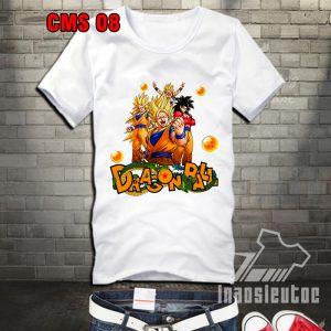 áo phông dragon ball - bảy viên ngọc rồng đẹp - inaosieutoc.com
