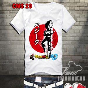 Mẫu áo phông Dragon ball đẹp giá rẻ uy tín chất lượng - inaosieutoc.com