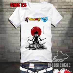 Áo thun dragon ball dành cho fan - áo goku - inaosieutoc.com