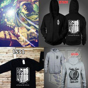 mua áo khoác attack on titan hcm giá rẻ nhất - inaosieutoc.com