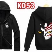 Áo khoác đen Bleach - in áo khoác anime manga theo yêu cầu