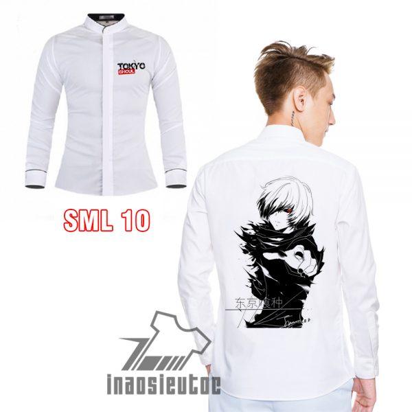 Áo sơ mi Ken Kaneki Tokyo Ghoul - Áo anime - inaosieutoc.com