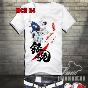Áo phông Gintama đẹp giá rẻ chất lượng tại hà nội