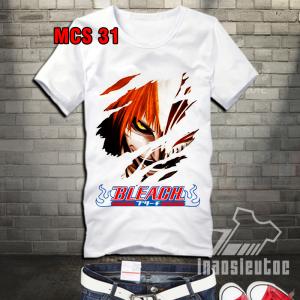 Shop bán áo Bleach đẹp - in hình áo anime theo yêu cầu