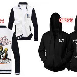 Shop bán áo khoác Attack on Titan trinh sát đoàn uy tín nhất - inaosieutoc.com