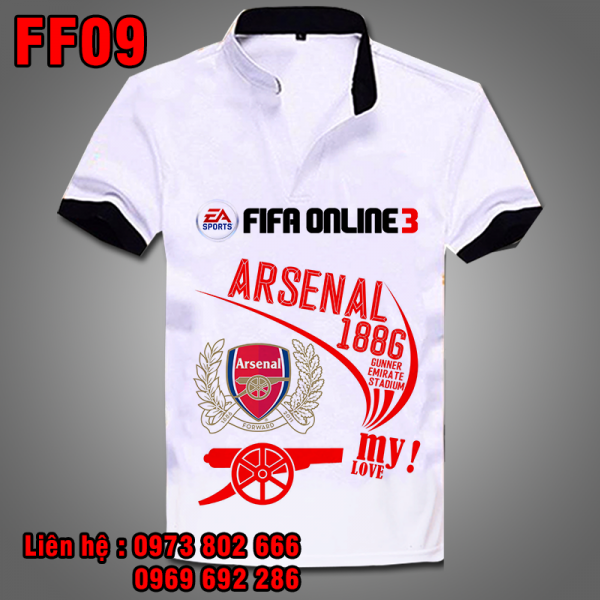 Áo phông Logo Arsenal - Fifa Online 3