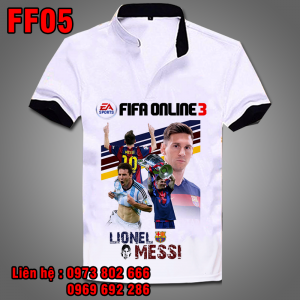 Áo phông Messi FF05 - Fifa Online 3