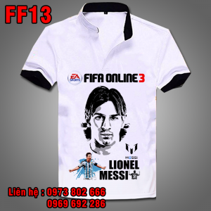 Áo phông Messi FF13 - Fifa Online 3