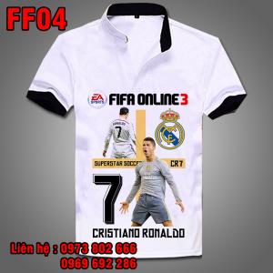 Áo phông Ronaldo FF04- Fifa Online 3