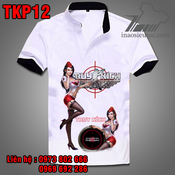 Áo phông Truy Kích TKP12