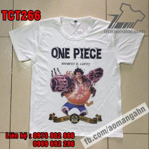 Shop in lẻ áo Luffy - One Piece cực chất ở tphcm