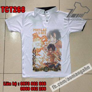 Shop in lẻ áo thun Ace - One Piece cực độc ở đà nẵng