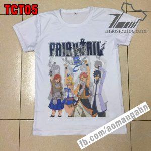 In lẻ áo thun Fairy Tail tại biên hòa đồng nai