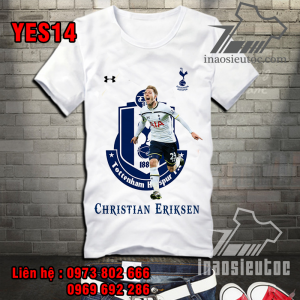Áo bóng đá Tottenham eriksen đẹp độc ở bình phước
