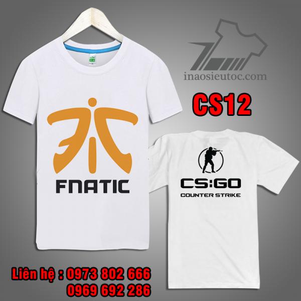 Áo Game CS GO team fnatic giá rẻ duy nhất ở sơn la