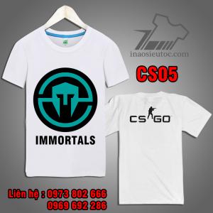 Áo Game CS GO team immortals giá rẻ ở bắc ninh