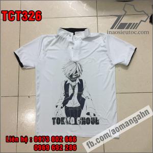 Nhận in lẻ áo thun Tokyo Ghoul cực chất ở hà giang