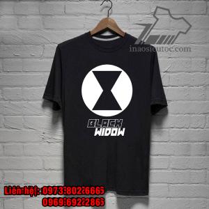 áo phông siêu anh hùng black widow chất lượng - inaosieutoc ở ninh thuận