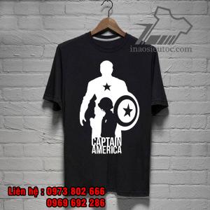 áo phông siêu anh hùng captain america giá tốt nhất - inaosieutoc ở hải dương